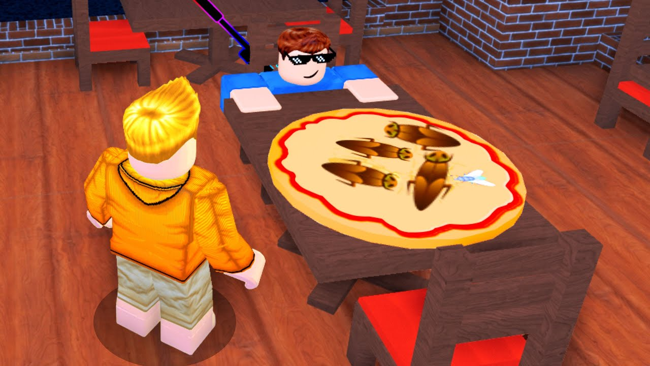 ROBLOX PIZZA PLACE and I'm THE MANAGER.. (Bug Pizza)
