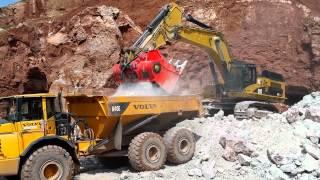 Video still for ALLU Transformer Screener Crusher - M Series For Excavator and Wheel loader