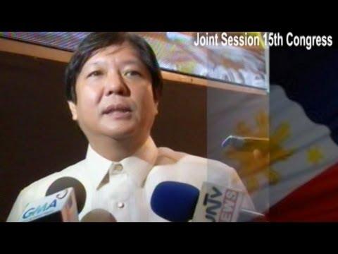 Sen. Bongbong Marcos - Ambush Interview...