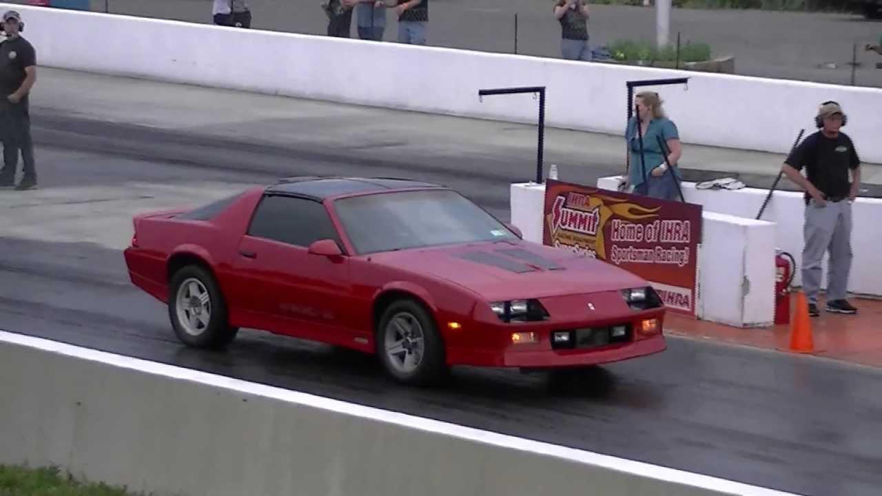 1986 IROCZ Camaro vs 50 Mustang  YouTube