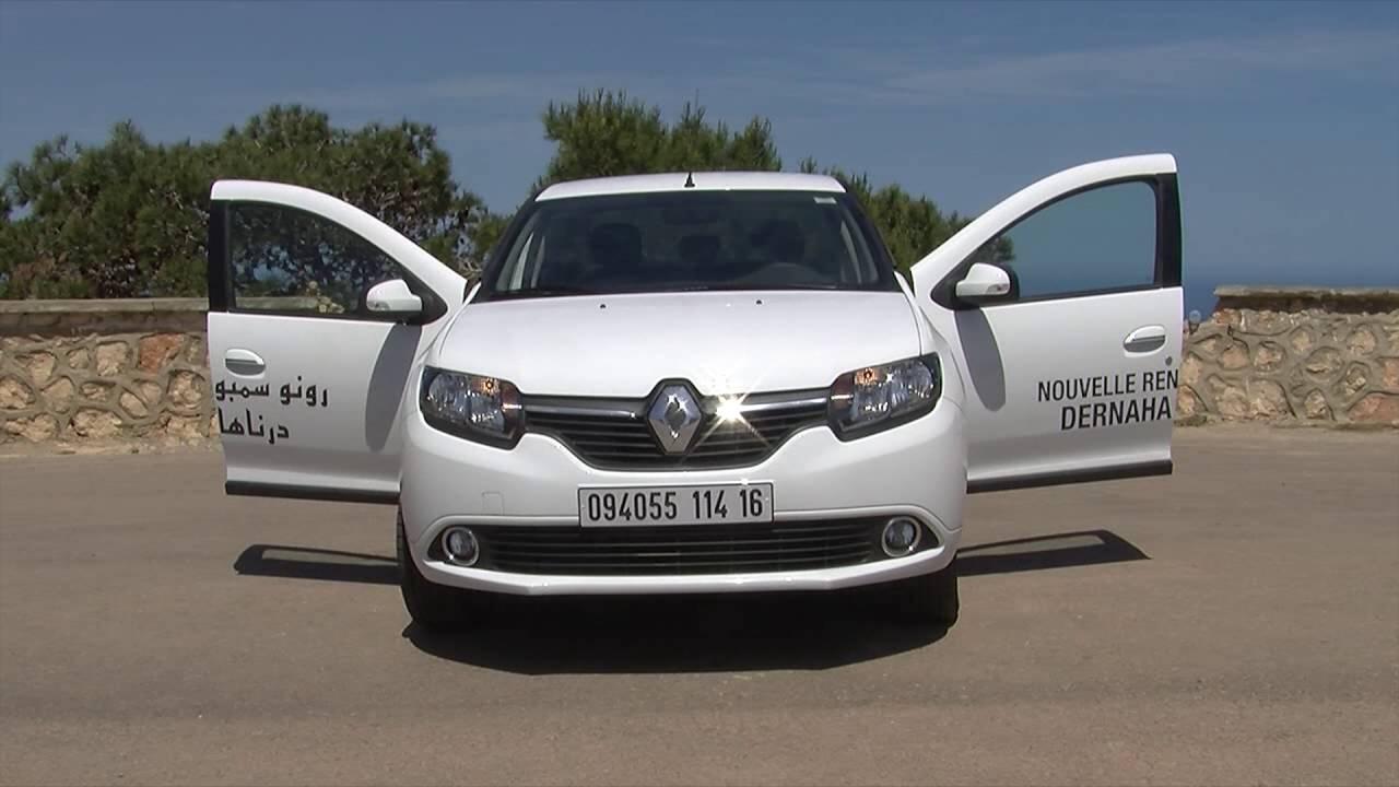 Essai Dynamique Renault Symbol Fabriquee En Algerie Oran Youtube
