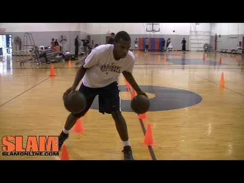 Khris Middleton 2012 NBA Draft Workout with John Lucas - CityLeagueHoopsTV
