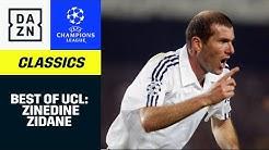 Zinedine Zidane: Alle UCL-Tore | UEFA Champions League | DAZN Classics