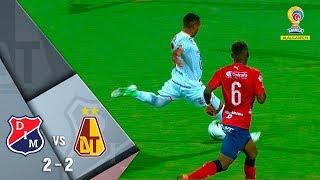 Medellín vs Tolima resumen y goles del empate 2-2 Semifinal de final ida Liga Águila 2018-II