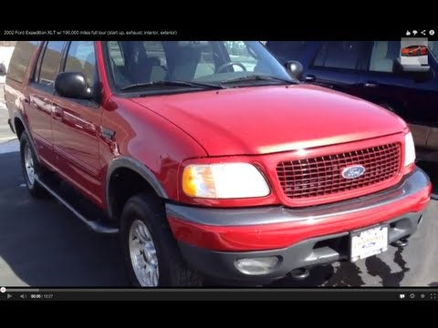 2002 ford expedition start up and review 5 4 l triton v8 how to save money and do it yourself. Black Bedroom Furniture Sets. Home Design Ideas