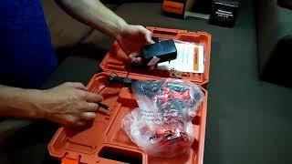 Розпакування акумуляторних шуруповертів Tekhmann TCD-12 Li