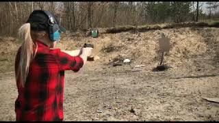Gambar cover Handgun shooting. Training with relax music. #tigerkitty