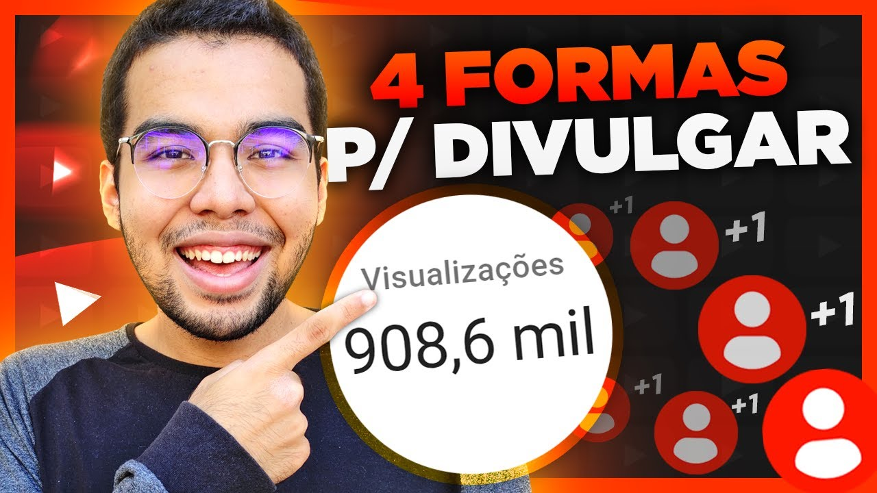 4 Formas p/ Divulgar um Vídeo no YouTube em 2021! (Guia Completo)