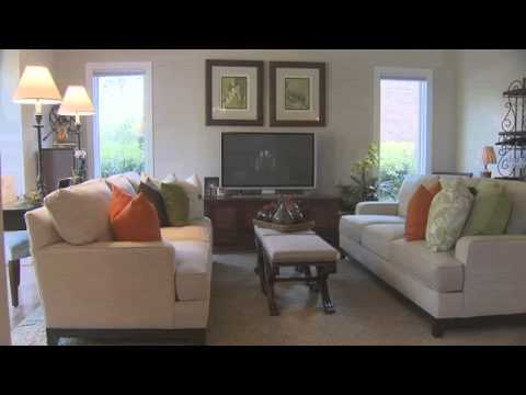 Ethan Allen Fall Decorating - YouTube