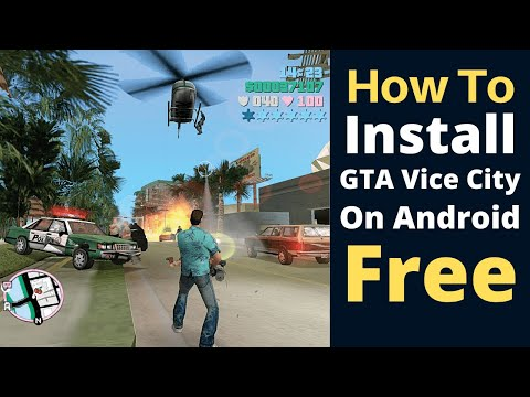 How To Install GTA Vice City Through OBB File In Android??