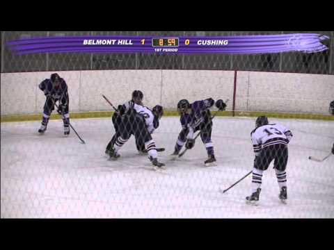 Cushing Academy - Varsity Boys Ice Hockey vs. Belmont Hill School