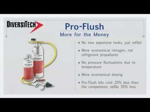 Diversitech Pro Flush Hvac Flush Kit Youtube