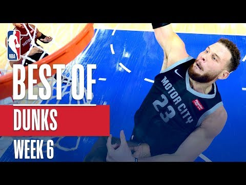 NBA's Best Dunks | Week 6
