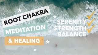 Root Chakra Guided Meditation: RELEASE and HEAL fear, stress, anxiety and feeling unsafe 😌