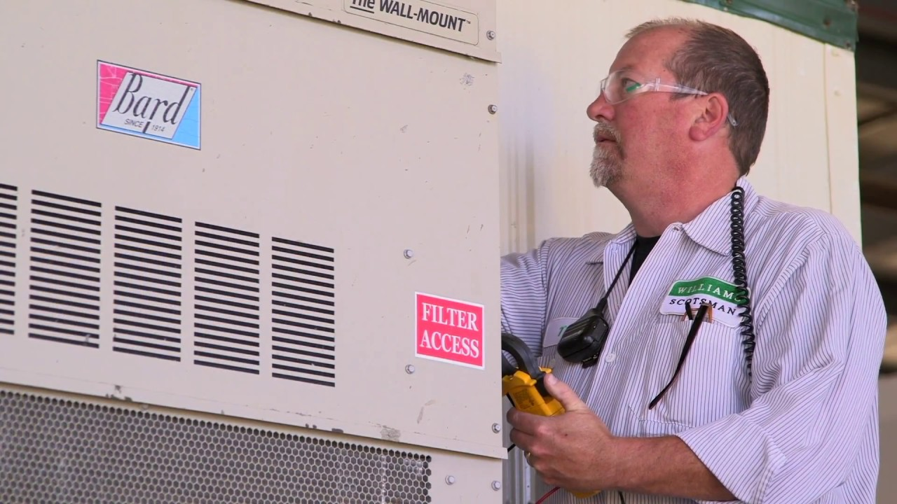 How to Change the Air Filter in Your Office Trailer