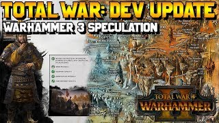 Total War: Dev Update - Warhammer 3 Realm of Chaos, Three Kingdoms, and Future of TW Games?