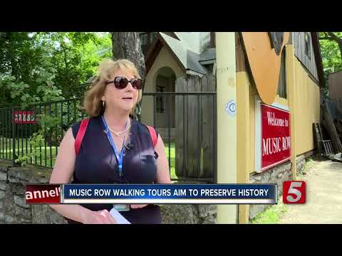 Nashville's Music Row Welcomes First-Ever Guided Walking Tours