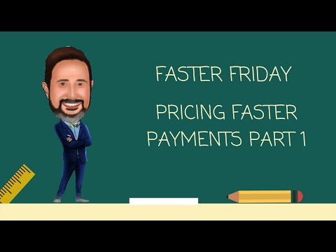 Pricing Faster Payments Part One