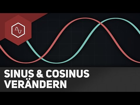 Sinus- und Cosinusfunktionen verändern – Amplitude / Periode