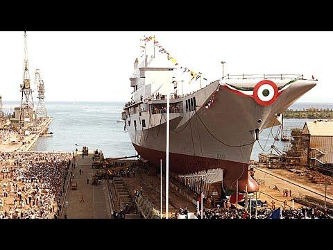 La storia dei cantieri nautici di Monfalcone