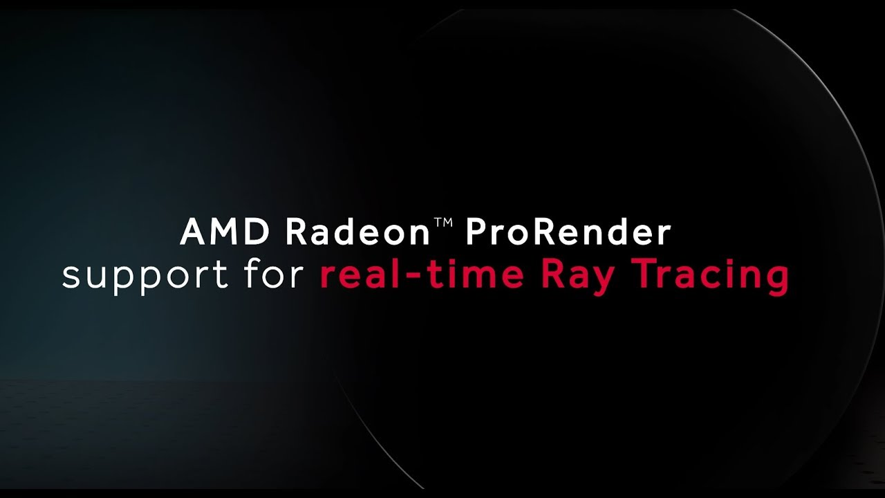 AMD's Open Source Vulkan Ray Tracing Engine Debuting In