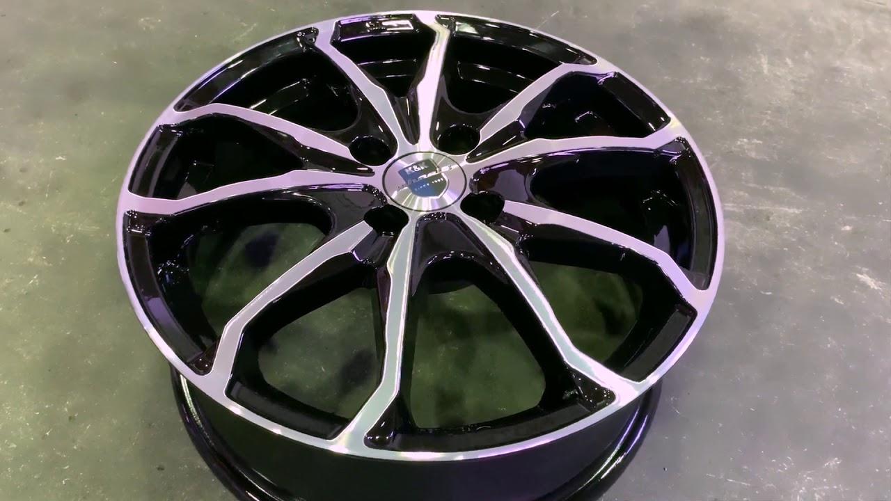 Литые диски КиК и СКАД. Циклы производства литых дисков и тест-драйв на гоночной трассе