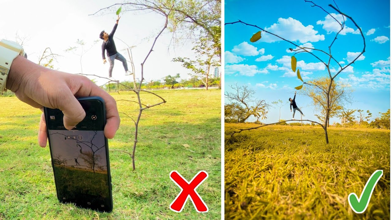 5 Crazy Low Angle Photography Ideas With Phone 🔥