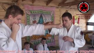 Айкидо Йошинкан. Защита и контратака против боксерской  двоечки