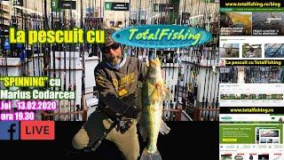 Pescuit la spinning cu Marius Codarcea