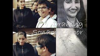 Drawing Sonam Kapoor (as Neerja): #4