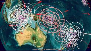 9/23/2018 -- Spread of new M5.0+ earthquakes across the Pacific -- Keep watch between silent zones