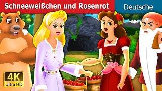 Schneeweißchen und Rosenrot | Gute Nacht Geschichte | Deutsche Märchen