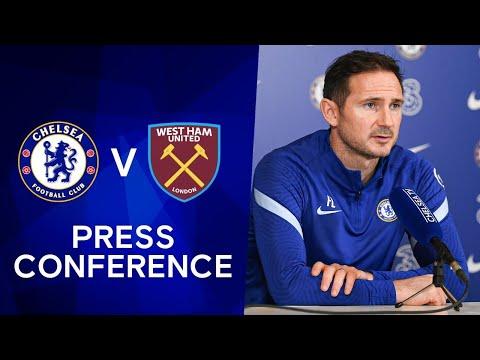 Frank Lampard Live Press Conference: Chelsea v West Ham   Premier League
