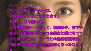 ローラ・くりぃむしちゅー有田哲平、電撃結婚 衝撃スクープ(ローラ・く...