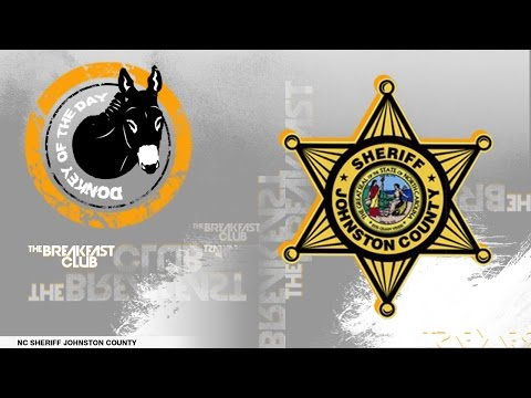 Johnston County Sheriff Department- Donkey of the Day (11-16-16)