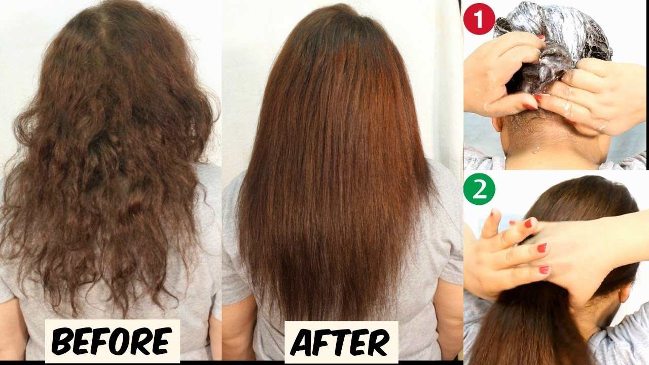 Permanent Hair Straightening At Home Hair Straightening