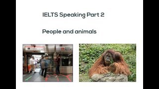 IELTS Speaking Part 2 People and Animals 11