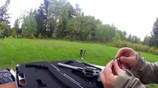 Пневматический пистолет Gletcher SW R8 против китайской DYE