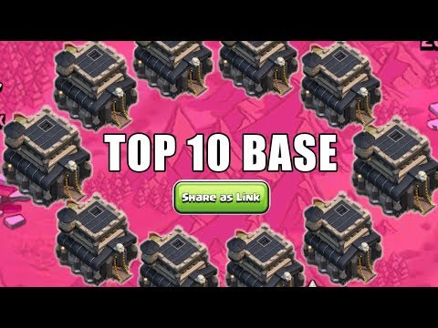New Best Th9 War Base (Top10) With Link In Clash Of Clans 2019