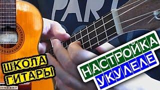 как настроить УКУЛЕЛЕ  Школа гитары