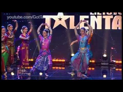 "Indian Classical Dance in ""Lithuania Got Talent"""