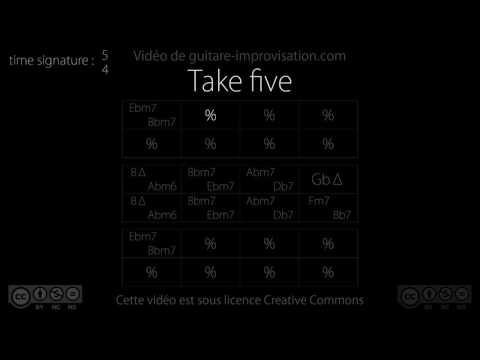 Take Five (Paul Desmond) : Backing Track