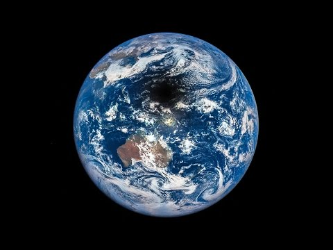 Total Solar Eclipse seen by DSCOVR