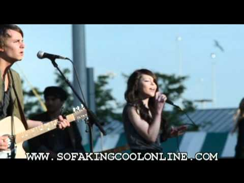 Cady Groves on YouTube Music Videos