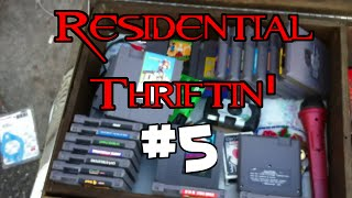 Residential Thriftin' #5: Zombie NES Games!