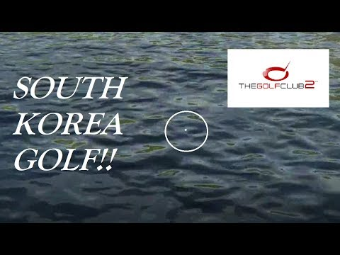 THE WATER RUINS MY GREAT ROUND!!!- The Golf Club 2 South Korea Golf Gameplay (PS4 Gameplay)