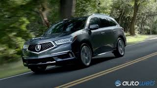Best Luxury SUV: 2018 Acura MDX - AutoWeb Buyer's Choice Award Winner