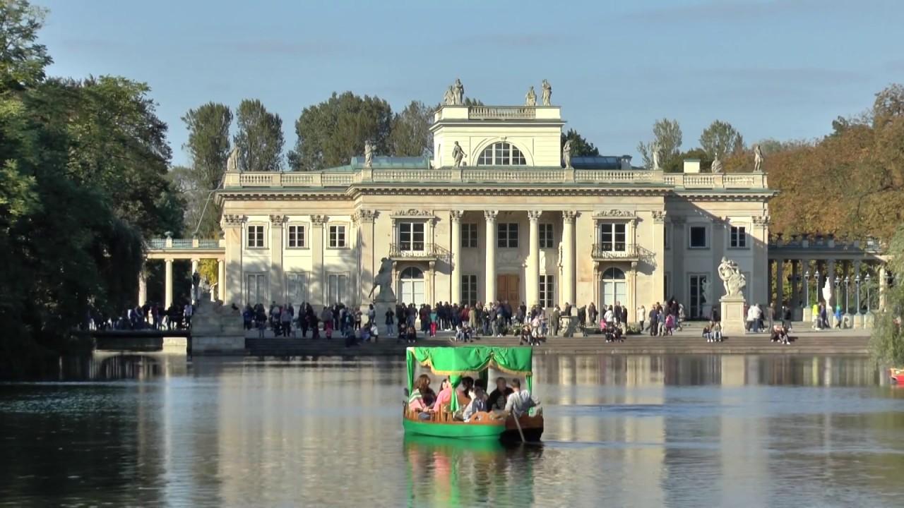 Warszawa Pałac Na Wyspie łazienki Królewskie 30 Września 2017