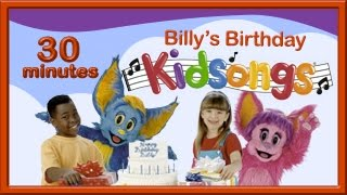 Happy Birthday Song | Patty Cake | Simon Says | Billy's Birthday | Kidsongs Video | PBS Kids