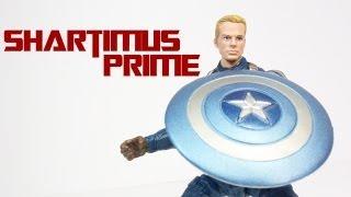 Captain America Winter Soldier Grapple Cannon Captain America 3 3/4 Inch Movie Figure Review